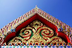 Wat Chom Phothayaram, Sothon, περιοχή Mueang Chachoengsao, Ταϊλάνδη στις 4 Νοεμβρίου 2018 Thot Kathin στο ναό chedi της Ταϊλάνδης στοκ φωτογραφία με δικαίωμα ελεύθερης χρήσης