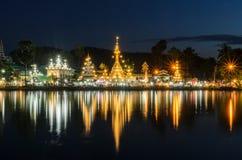 Wat Chong Kham Lizenzfreies Stockfoto