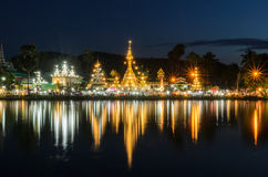 Wat Chong Kham Fotografia Stock Libera da Diritti