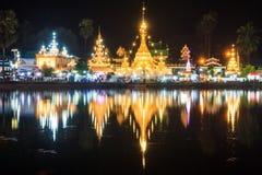 Wat Chong Kham stockfotografie