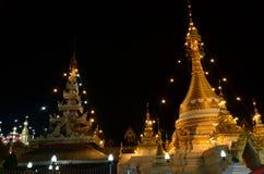 Wat Chong Kham the temple in Mae Hong Son Royalty Free Stock Image