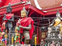 Wat Chulamanee in Amphawa, Tailandia Immagine Stock Libera da Diritti