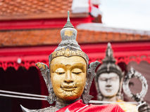 Wat Chulamanee w Amphawa, Tajlandia Obraz Stock