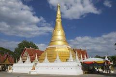 Wat Chumphon Khiri, μέθυσος της Mae, επαρχία Tak, Ταϊλάνδη στοκ φωτογραφία με δικαίωμα ελεύθερης χρήσης