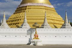 Wat Chumphon Khiri, πόλη του μέθυσου της Mae, επαρχία Tak, Ταϊλάνδη στοκ φωτογραφίες με δικαίωμα ελεύθερης χρήσης