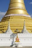 Wat Chumphon Khiri, Mae Sot, Tak province, Thailand. Wat Chumphon Khiri, town of Mae Sot, Tak province, Thailand. Wat Chumphon Khiri a Burmese style Buddhist Royalty Free Stock Photography