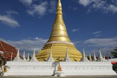 Wat Chumphon Khiri, Mae Sot, Tak province, Thailand. Stock Images