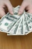 Wat contant geld Stock Foto's