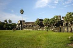 Wat d'Angkor Photo libre de droits