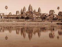 Wat d'Angkor Photos stock