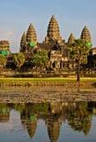 Wat d'Angkor. Image libre de droits