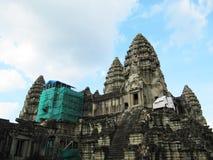 Wat d'Angkor, Cambodge. Photo libre de droits