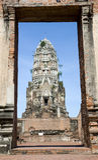 Wat dans Ayuthaya images stock