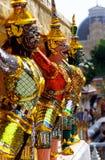 wat de la Thaïlande de temple de phra de kaeo de Bangkok Images libres de droits