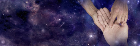 Wat de sterren doen voorspel Royalty-vrije Stock Foto
