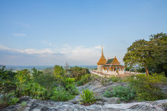 Wat Dee salak. Beautiful calming measure. And surrounded by nature, Suphan Buri, Thailand Stock Photo
