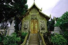 Wat della chiesa tailandese fotografie stock