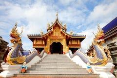 Wat Den Sa Lee Si Mueng Gan, templos en Chiang Mai Imagen de archivo