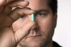 Wat is deze pil? Stock Foto's