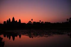 Wat di Angkor Immagine Stock