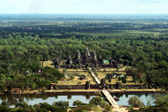 Wat di Angkor Immagine Stock Libera da Diritti