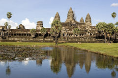 Wat di Angkor, Siem Reap, Cambogia Fotografia Stock