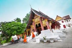Wat di Souvannakhili, Luang Prabang - Laos Fotografie Stock Libere da Diritti