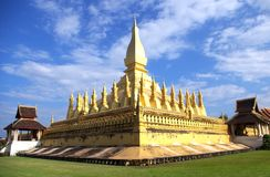 Wat die Luang in Loas Royalty-vrije Stock Fotografie