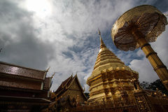 Wat Doi Suthep in Chaingmai Royalty-vrije Stock Foto