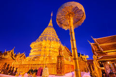 Wat Doi Suthep in Chiang Mai Stock Photos