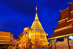 Wat Doi Suthep In Chiang Mai Thailand Royalty Free Stock Photos