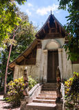 Wat Don Sak temple with magnificently carved doors in Uttaradit, Thailand. Stock Photography