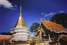 Wat Dong Luang royalty-vrije stock foto's