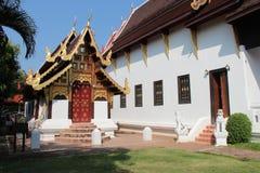 Wat Duang Di - Chiang Mai - Thailand Arkivfoto