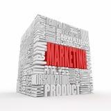 Wat een Marketing is stock illustratie