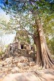 Wat Ek Phnom  temple near the Battambang city, Cambodia Stock Photos