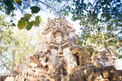 Wat Ek Phnom  temple near the Battambang city, Cambodia Stock Photography