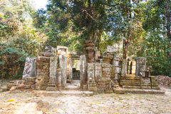 Wat Ek Phnom  temple near the Battambang city, Cambodia Stock Image