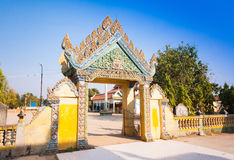 Wat Ek Phnom  temple near the Battambang city, Cambodia Royalty Free Stock Photos