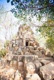 Wat Ek Phnom  temple near the Battambang city, Cambodia Stock Images