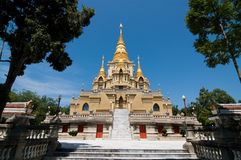 Wat en Thaïlande Photographie stock