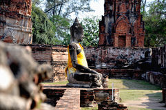 wat för 2 buddha mahathatphra Royaltyfri Foto