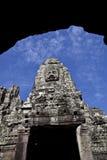 wat för angkorbayontempel Royaltyfri Foto
