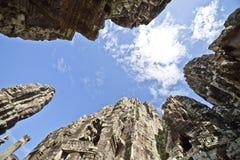 wat för angkorbayontempel Royaltyfria Bilder