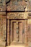 wat för angkorcambodia dörröppning arkivfoton