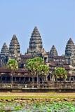 wat för angkorcambodia tempel royaltyfri bild
