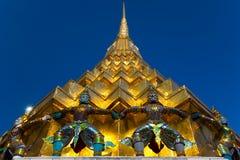 wat för bangkok jätte- kaewphra Arkivfoton