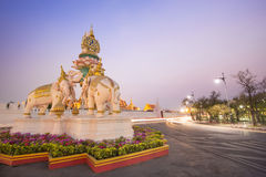 wat för bangkok kaewphra Arkivfoton
