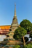 wat för bangkok phostupa Arkivbild