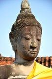 wat för buddha head mahathatphra Royaltyfri Bild